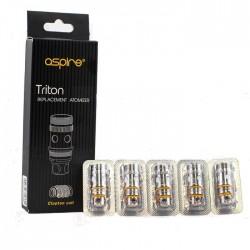Aspire Triton, Triton - 2 Clapton Coil Head 0.5Ohm