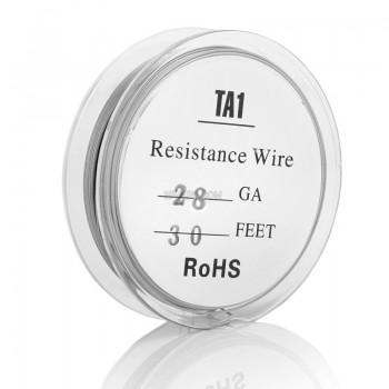 TA1 Resistance Titanium Temp Control Wire 100 Feet Grade 1