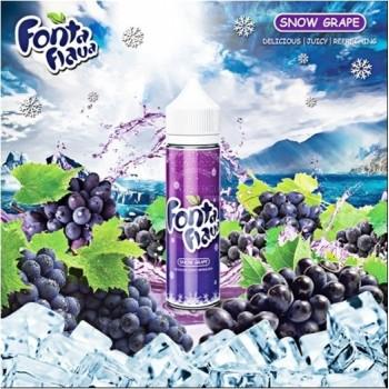 60ml Fonta Flava Liquid - Snow Grape Flavor eJuice