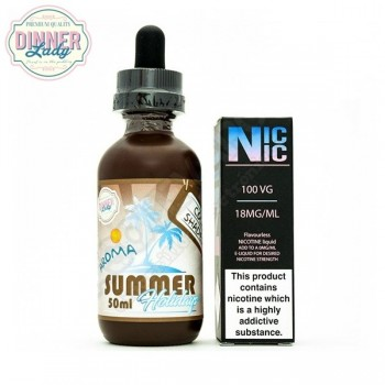50ml Cola Shades EJuice Summer Holiday by Dinner Lady
