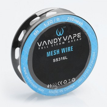 Vandy Vape Mesh Wire on Spool 200mesh SS316L