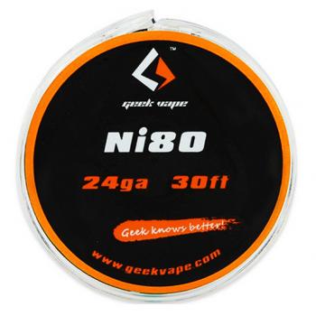 GeekVape Atomizer DIY Ni80 All Type Tape Wire 10m
