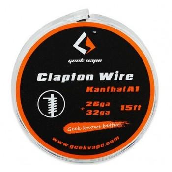 GeekVape Kanthal A1 26GA Clapton Tape Wire 15ft