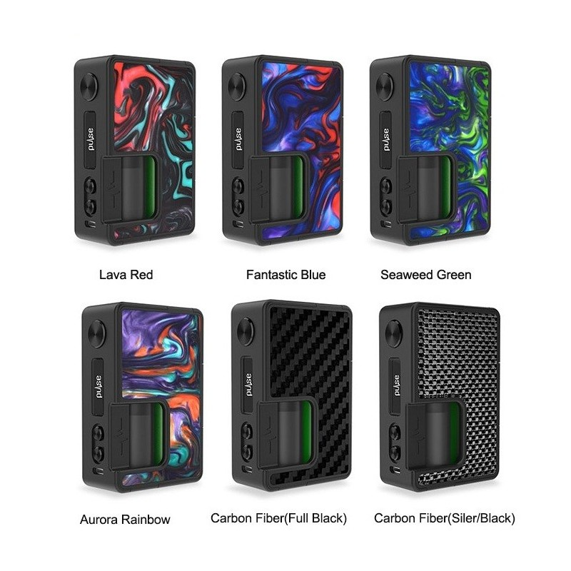 Vandy Vape - Pulse BF 80W Squonk Box Mod - Efag ie