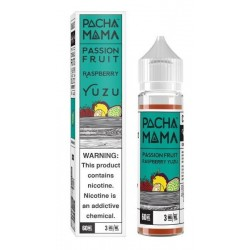 Pacha Mama - Passion Fruit Raspberry Yuzu 50ml