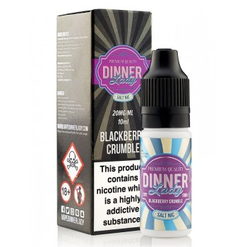 Blackberry Crumble Salt Nic 10ml 20mg E Liquid by Dinner Lady
