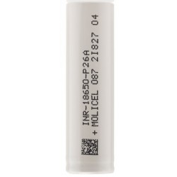 Molicel P26A 25A 2600mAh 18650 Battery