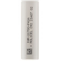 Molicel P42A 30A 4000mAh 21700 E Cigarette Battery