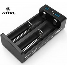XTAR MC2 PLUS 2 Bay USB Battery Charger