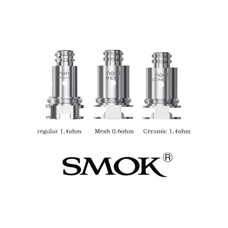 Genuine Smok Nord Replacement Coil Heads Ireland