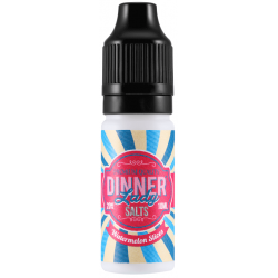 Watermelon Slices 20mg Nic Salt E Liquid by Dinner Lady