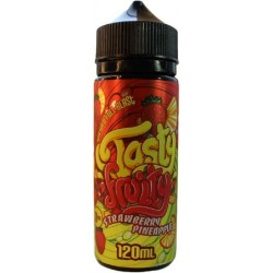 Strawberry Pineapple by Tasty Fruity E Liquid 100ml Short Fill