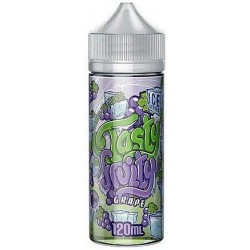 Grape Ice by Tasty Fruity E Liquid 120ml Short Fill