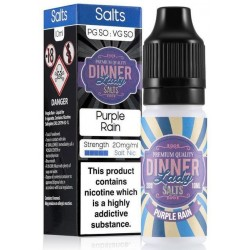 Purple Rain 20mg Nic Salt E Liquid By Dinner Lady