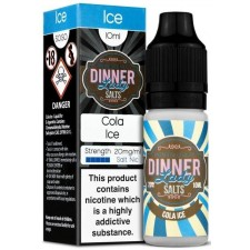 Cola Ice 20mg Nic Salt E Liquid By Dinner Lady