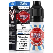 Berry Blast 20mg Nic Salt E Liquid By Dinner Lady