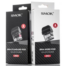 Smok RPM Replacement Cartridge Pod 4.3ml or 4.5ml 3Pcs