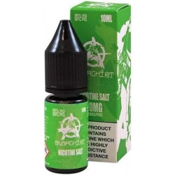Green Anarchist Salt E Liquid 10ml 20mg