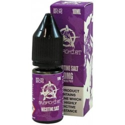 Purple Anarchist Salt E Liquid 10ml 20mg