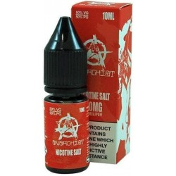 Red Anarchist Salt E Liquid 10ml 20mg