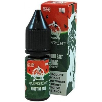 Watermelon Anarchist Salt E Liquid 10ml 20mg Ireland
