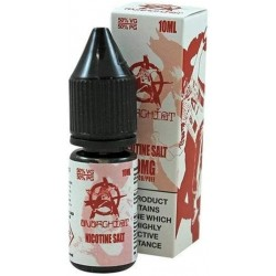 White Anarchist Salt E Liquid 10ml 20mg