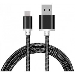 USB to USB Type C Braided 2A Cable