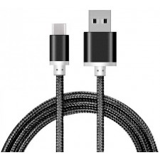USB to USB Type C Braided Cable