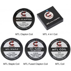 MTL Premade Coil Heads by Coilology 10 Pcs