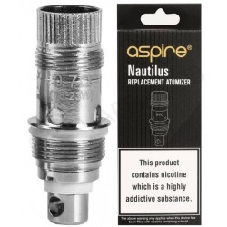 Aspire Nautilus, Naurilus 2, Nautilus 2S and Nautilus GT BVC Replacement Coil Heads