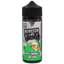 Apple Crumble Custard by Moreish as Flawless E Liquid | 100ml Short Fill