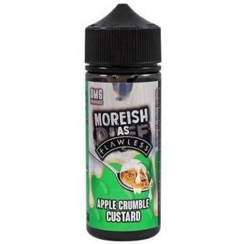 Apple Crumble Custard by Moreish as Flawless E Liquid | 100ml Short Fill
