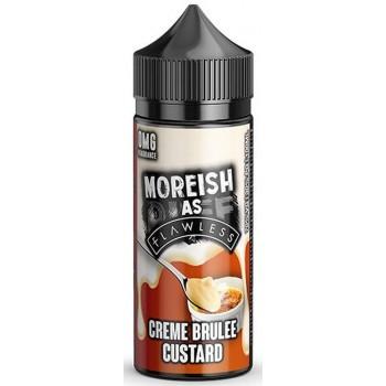 Creme Brulee Custard by Moreish as Flawless E Liquid | 100ml Short Fill