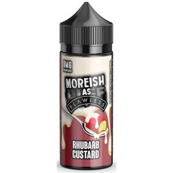Rhubarb Custard by Moreish as Flawless E Liquid | 100ml Short Fill