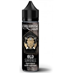 Old Smoke by Firehouse Vape Tobacco E Liquid 50ml
