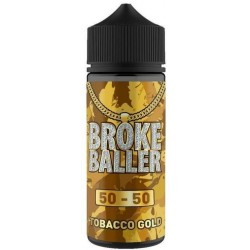 Tobacco Gold by Broke Baller 80ml Shortfill E-liquid