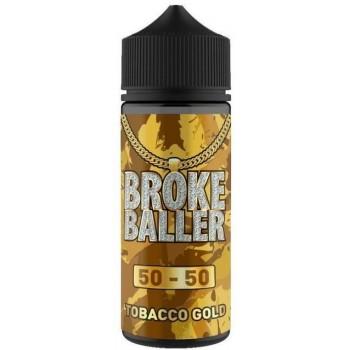 Tobacco Gold by Broke Baller 80ml Shortfill E-liquid