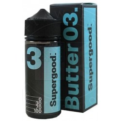 Butter 03 by Supergood E-Liquid | 100ml Short Fill