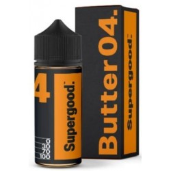 Butter 04 by Supergood E-Liquid | 100ml Short Fill