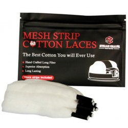 Steam Crave Mesh Strip Cotton Laces 10pcs For Aromamizer Plus V2 RDTA