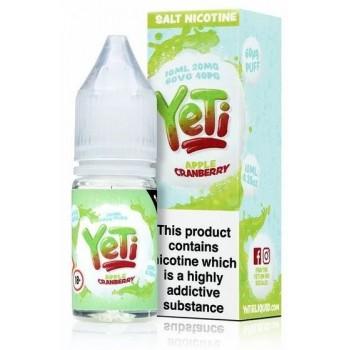 Cranberry Apple Yeti Nic Salt 20mg 10ml E-Liquid