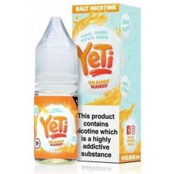 Orange Mango Yeti Nic Salt 20mg 10ml E-Liquid