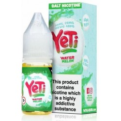 Watermelon Yeti Nic Salt 20mg 10ml E-Liquid