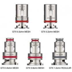 Vaporesso GTX Replacement Coil Heads