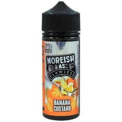 Banana Custard by Moreish as Flawless E Liquid | 100ml Short Fill