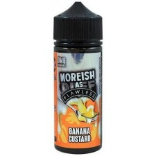 Banana Custard by Moreish as Flawless E Liquid | 100ml Short Fill