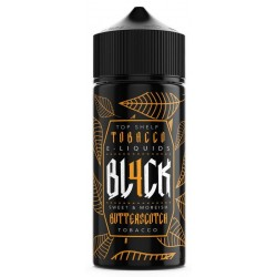 Butterscotch Tobacco By BL4CK 100ml Shortfill E-Liquid