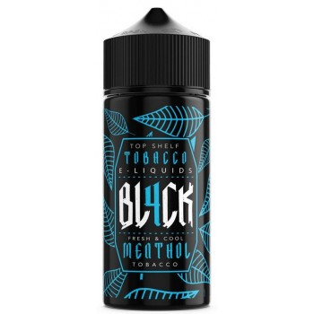 Menthol Tobacco By BL4CK 100ml Shortfill E-Liquid