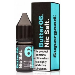 Butter 06 by Supergood Nic Salt 20mg 10ml E-Liquid