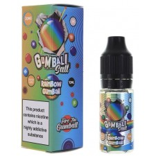 Rainbow Gumball 20mg Nic Salt E Liquid by Slushie Gumball